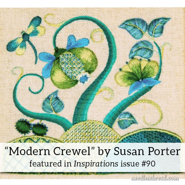 Modern Crewel - Embroidery Kit