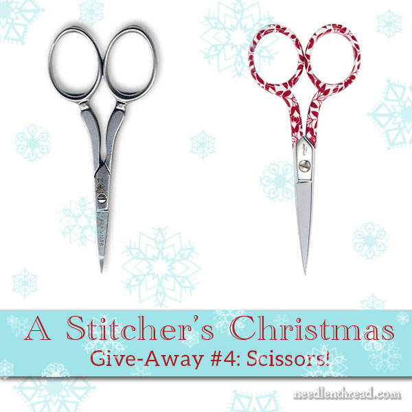 Stitcher's Christmas #4: Embroidery Scissors!