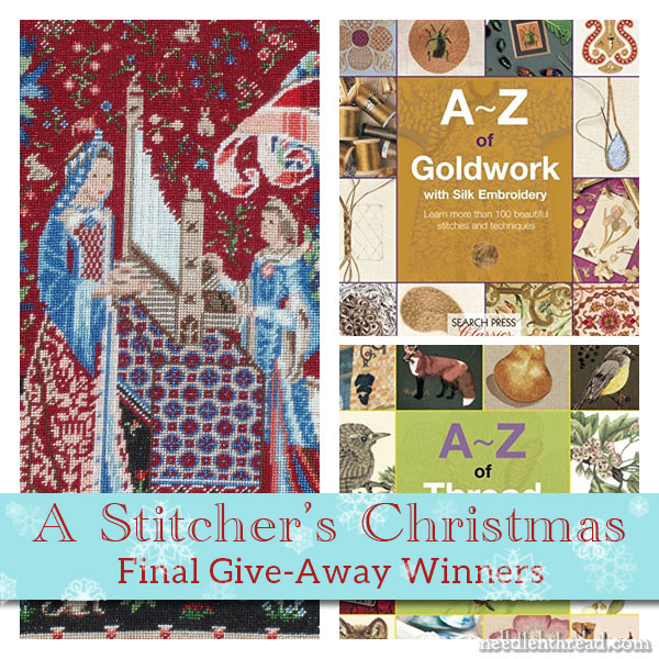 Stitcher's Christmas Final Wrap Up