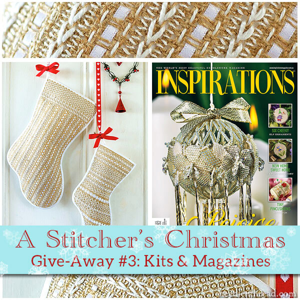 Stitcher's Christmas Give-Away: Inspirations Magazine & Kits