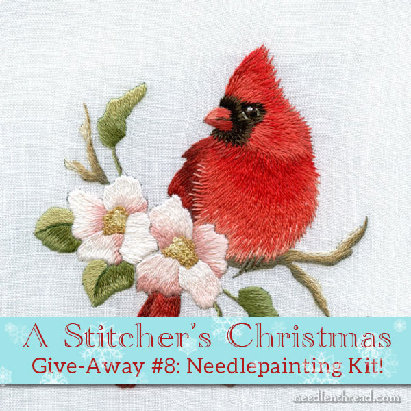 Trish Burr Needle Painting Embroidery Kit