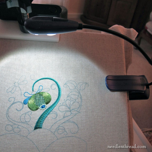 Might Bright Clip On Light for Embroidery - Review & Tips