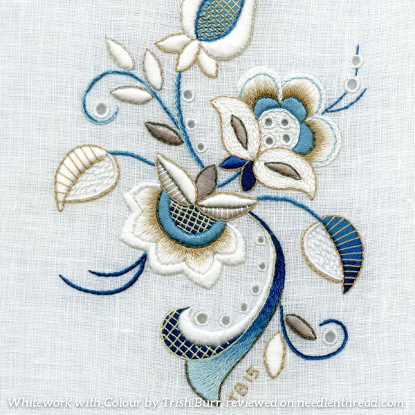 Whitework with Color by Trish Burr