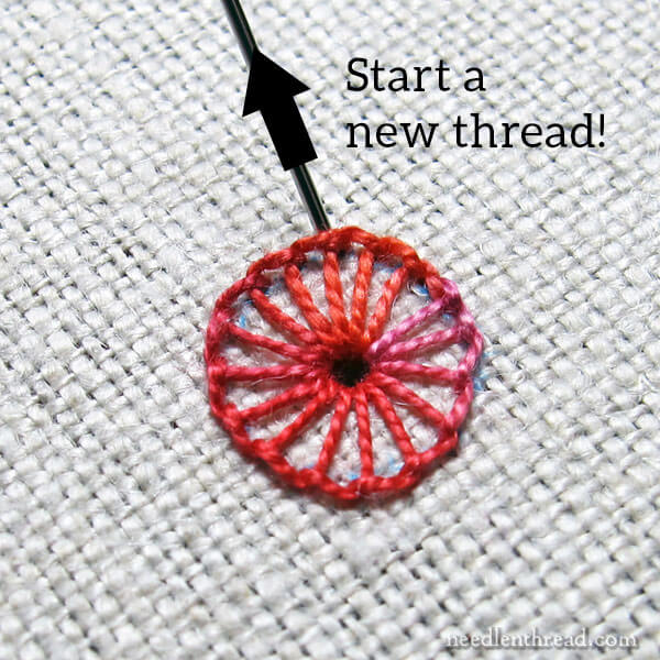 Stitch Fun! Lacy Buttonhole Wheel Eyelet