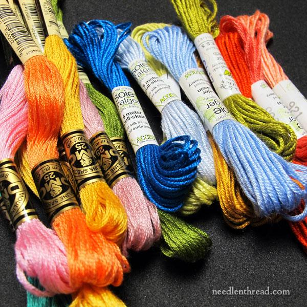 Silk Hand Embroidery Thread - the Basics