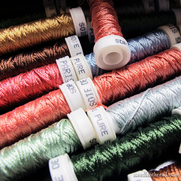 Silk Hand Embroidery Thread: Filament Silk