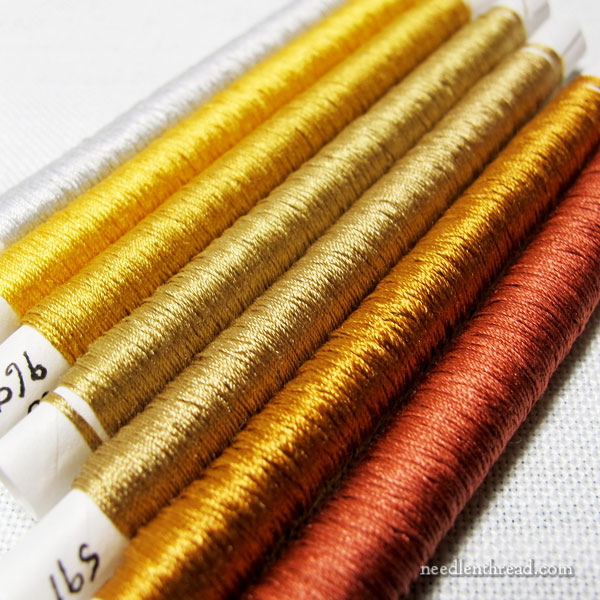 Mulberry Silks - Twisted Silk Embroidery Threads