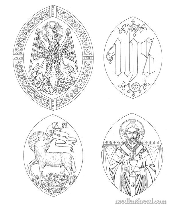 Ecclesiastical Embroidery Old Pattern Folios A Free Design