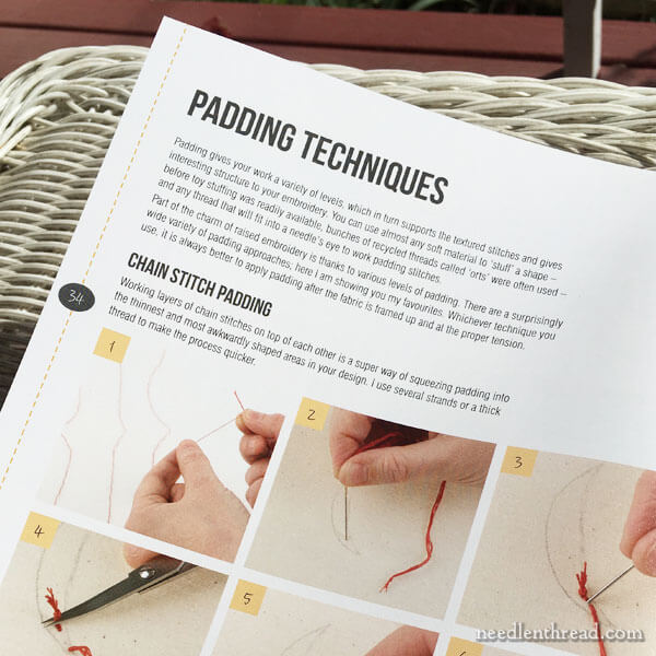 Raised Embroidery: Techniques, Projects, Pure Inspiration - Book Review