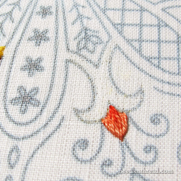 linen vs cotton for hand embroidery