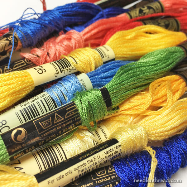 Confessions of a Disorganized Stitcher - Embroidery Thread Organization Tips