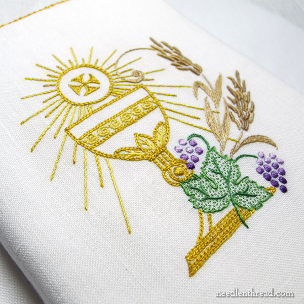 Embroidered Prayer Book / Bible Cover