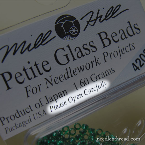 Mill Hill Beads: Packaging Frustrations