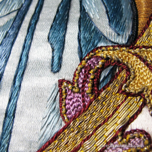 Salvaging ecclesiastical embroidery