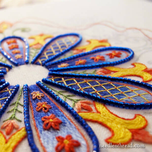 Embroidered Kaleidoscope: Party in Provence on Needle 'n Thread