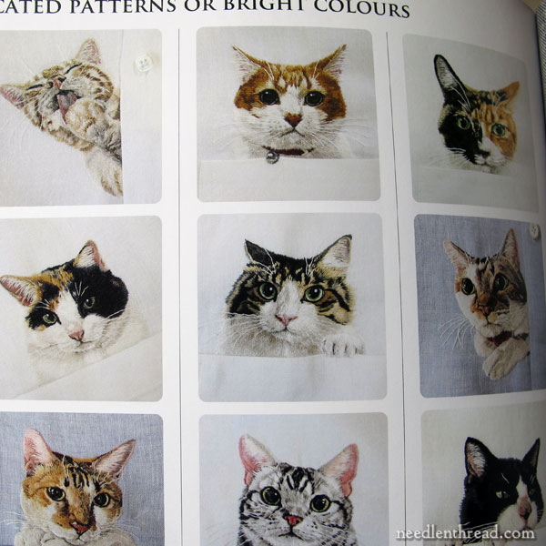 Embroidered Cats: Hiroko's Style - Book Review