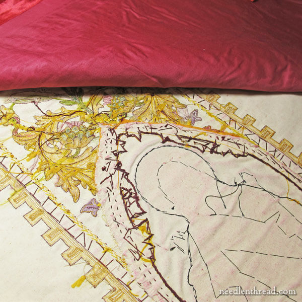 Embroidered Vestment Repair & Salvage