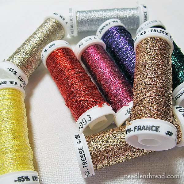 Au Ver a Soie Metallic Braids for embroidery