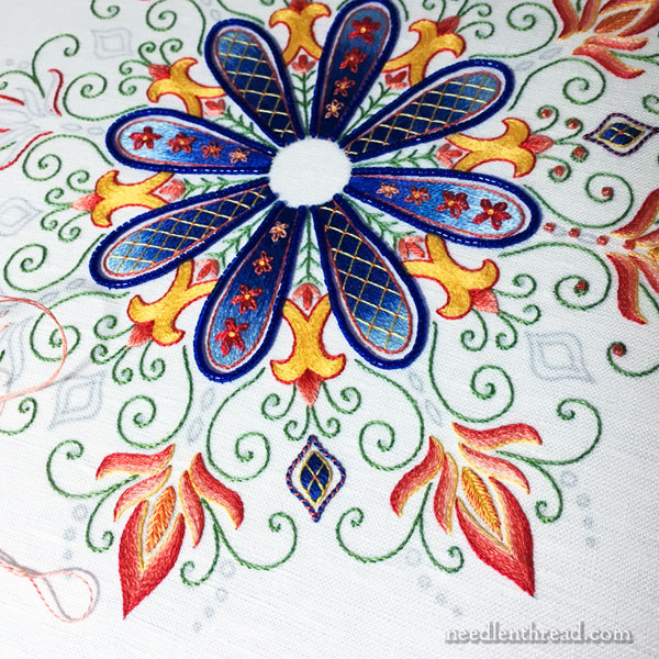Party in Provence - Embroidered Kaleidoscope