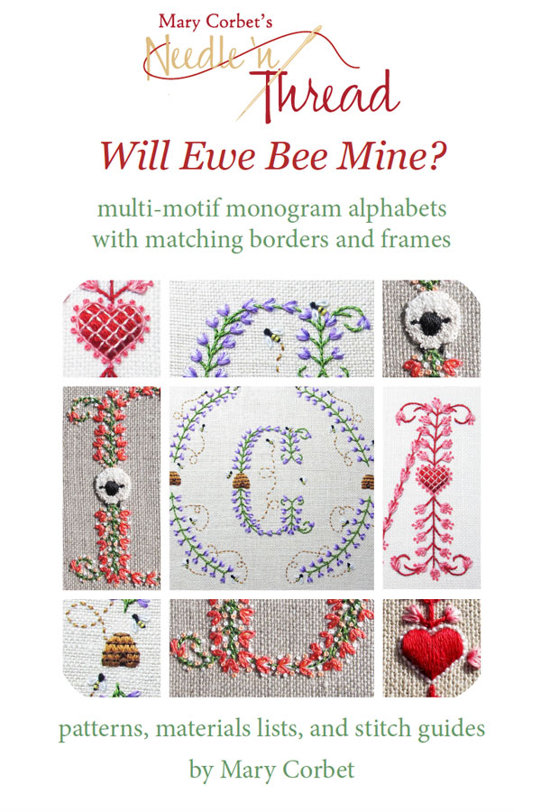 Will Ewe Bee Mine? Monograms for Embroidery