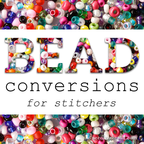 Bead To Floss Bead To Bead Conversions For Stitchers