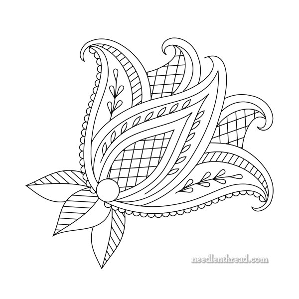 How to Make Printable Embroidery Patterns