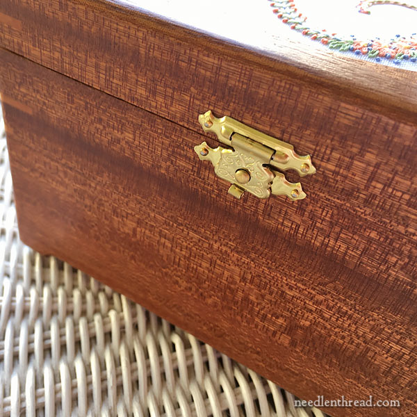 Hand Crafted Wooden Display Boxes for Embroidery