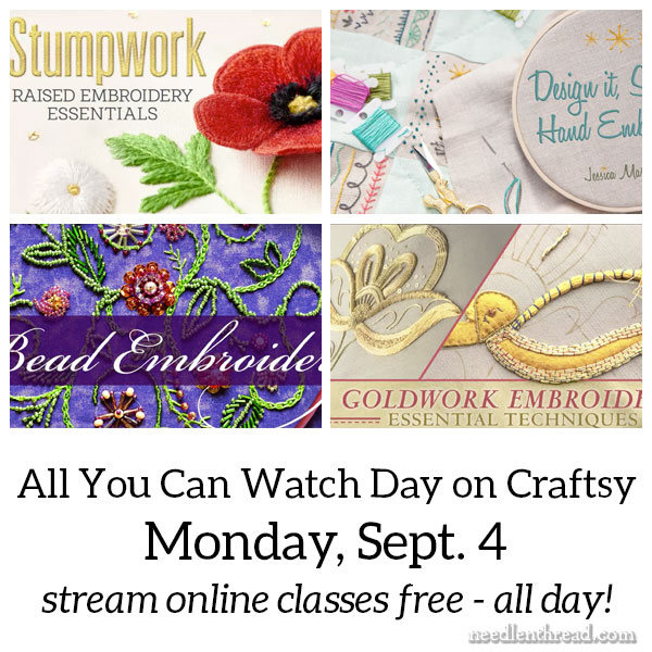 All You Can Watch Day on Craftsy!