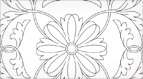 Dillmont Rose Embroidery or Quilting Pattern