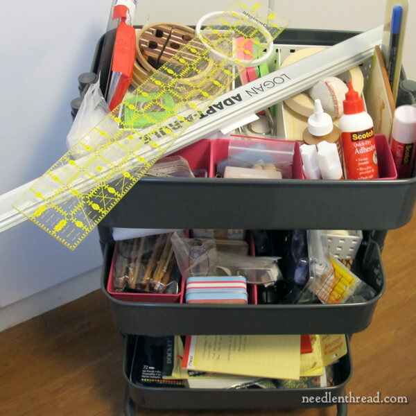 Embroidery Studio Essentials for Organization and Workflow
