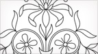 Fancy Floral Embroidery Pattern