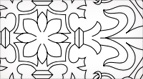 Floral Cross Church Embroidery Pattern