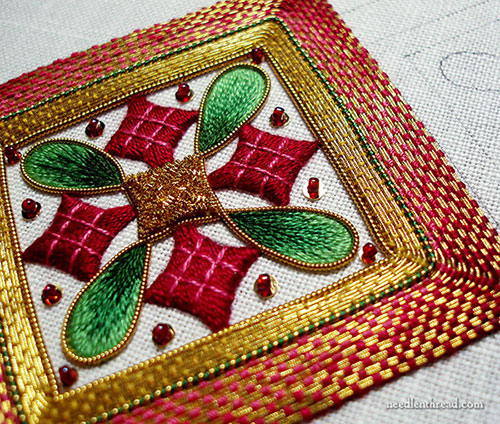 Goldwork & Silk Christmas Ornament Project Index