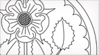 Rose Rondelle Embroidery Pattern