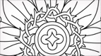 Passion Flower Church Embroidery Pattern