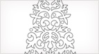 Christmas Tree - Tambour Embroidery Pattern
