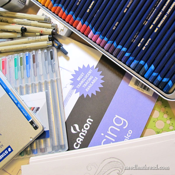 Art Supplies for Hand Embroidery Design