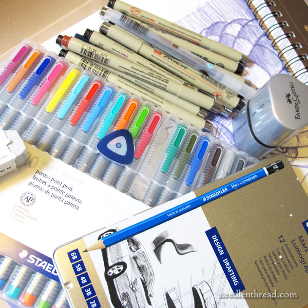Art Supplies for Hand Embroidery