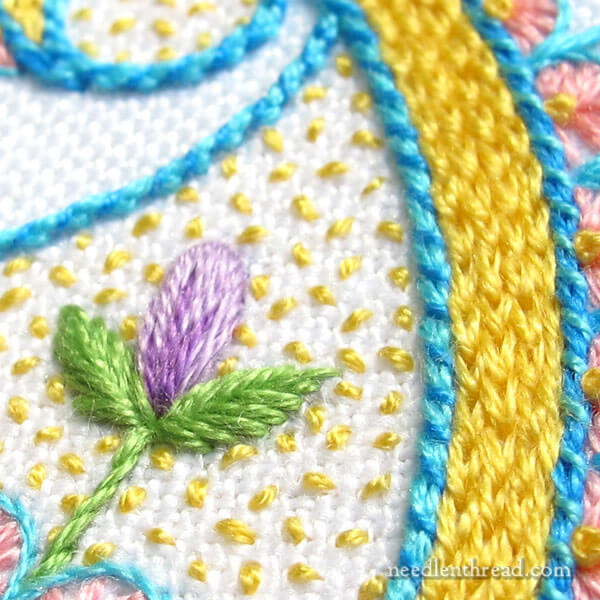Kaleidoscope Embroidery Project: Paisley Design