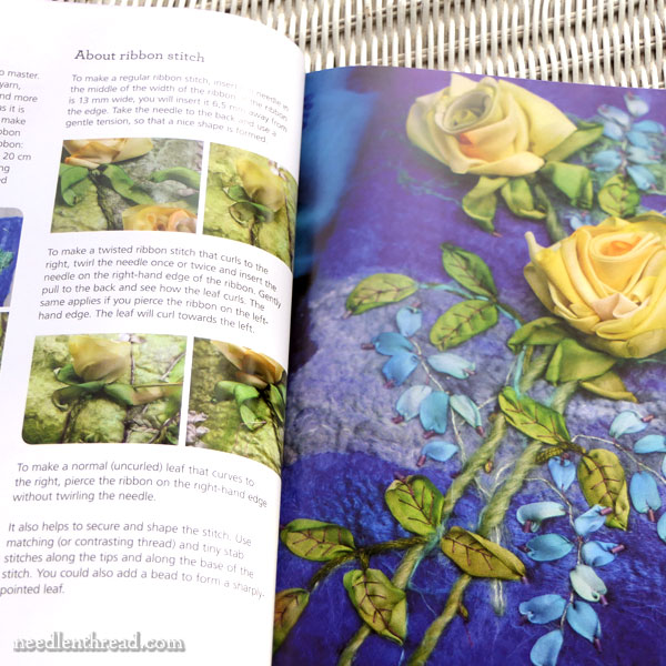 Art of Felting & Silk Ribbon Embroidery