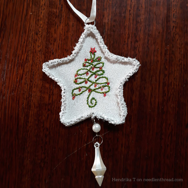 12 Trees for Christmas - Star Ornament