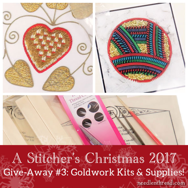 Stitcher's Christmas: Goldwork Kits & Supplies from Berlin Embroidery