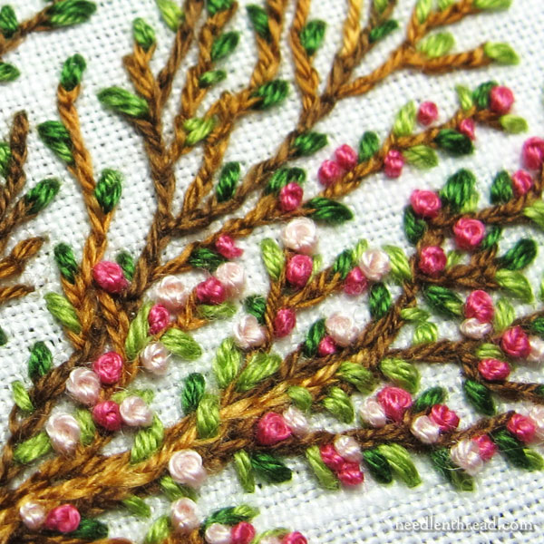 How to Make French Knots in Embroidery - 5 Tips