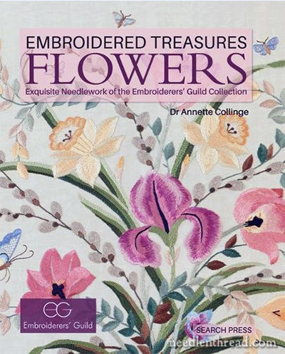 Embroidered Treasures: Flowers - a Book Review