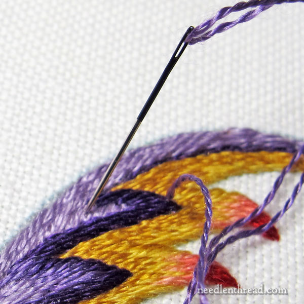 Embroidery Needles: Changing Needle Sizes
