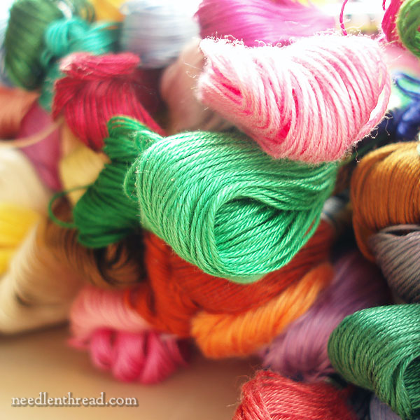 A Brief Guide To Cotton Hand Embroidery Threads Needlenthread