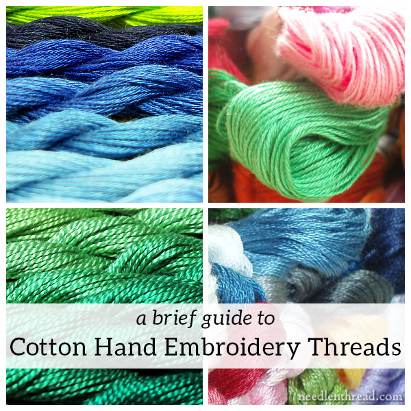 A Brief Guide To Cotton Hand Embroidery Threads Needlenthread Com