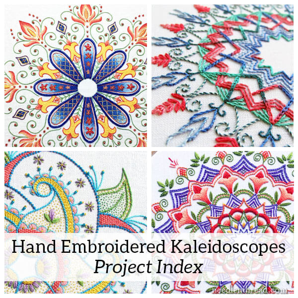 Hand Embroidered Kaleidoscopes Project Index