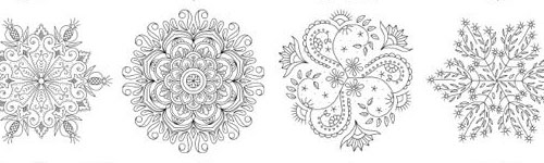 Favorite Kaleidoscopes for Hand Embroidery