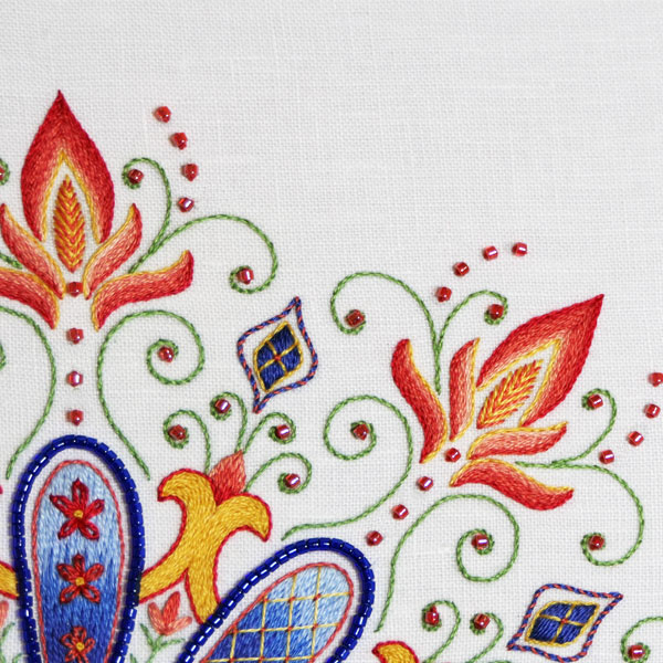 Embroidered Kaleidoscope: Party in Provence Outside Elements